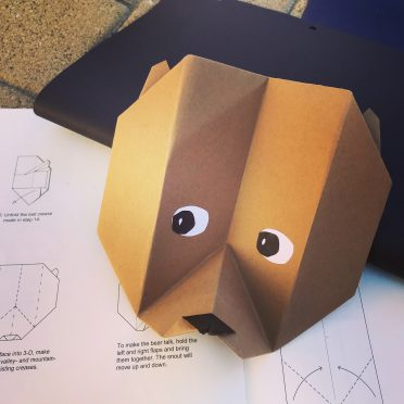 bear origami